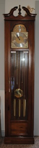 Restored Grandfather Clock